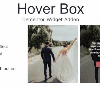 Hover Box Elementor Page Builder Addon 1.0.4