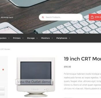WooThemes Outlet Storefront WooCommerce Theme 2.0.15
